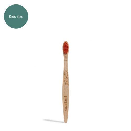 Ξύλινη Οδοντόβουρτσα-Παιδική