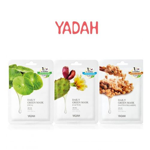 Daily Green Mask-Pack of 3